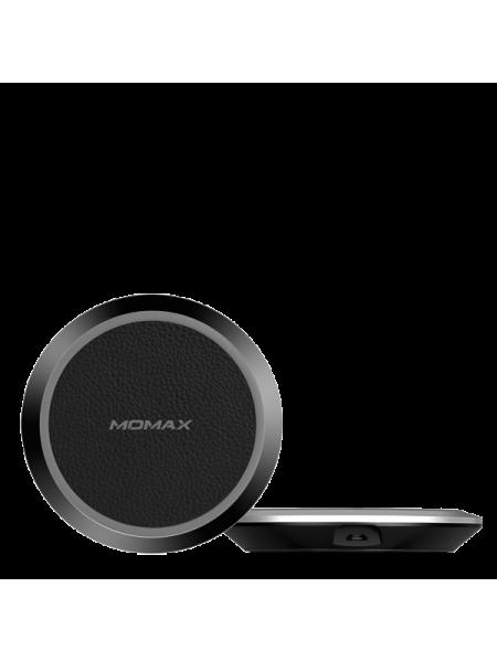 Беспроводная зарядка для телефона Momax QPad Leather Wireless Charger