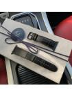 Ремешок, кожаный, чёрный из крокодила Mobcase 667 для Apple Watch