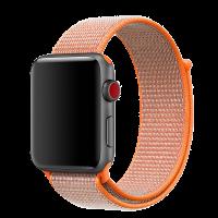 Ремешок для Apple Watch, 42mm, оранжевый, Special case Nylon Sport
