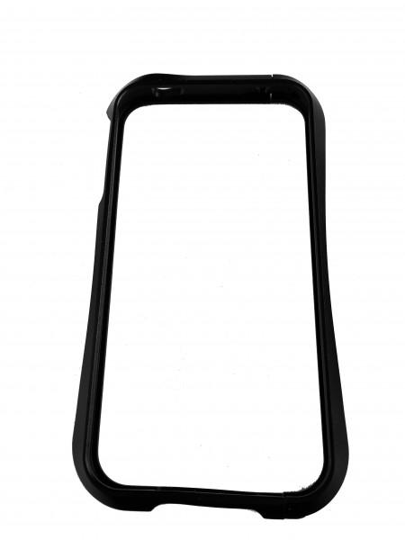Чехол, бампер, металлический, чёрный, Deff CLEAVE, для iPhone 4, 4s