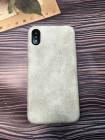 Белый, кожаный чехол из качественной эко кожи Mobcase 832 для iPhone XS