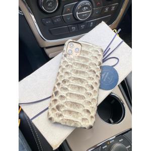 Белый, кожаный чехол, Mobcase 336
