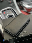 Чехол карман из чёрной кожи Mobcase 1189