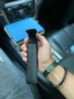 Чёрный, кожаный чехол для очков Mobcase 1137