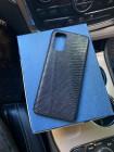 Чёрный, кожаный чехол из игуана Mobcase 1163
