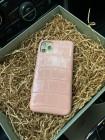 Розовый, кожаный чехол из нильского крокодила, Mobcase 1103