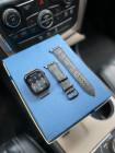 Чёрный кожаный ремешок Mobcase 1209 для Apple Watch