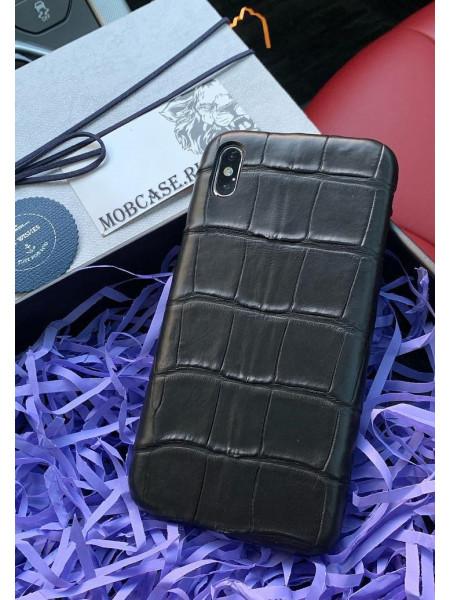 Дорогой чехол из крокодиловой кожи, Mobcase 740 для iPhone 7, 8, 7 Plus, 8 Plus, X, XS, XSMAX, XR