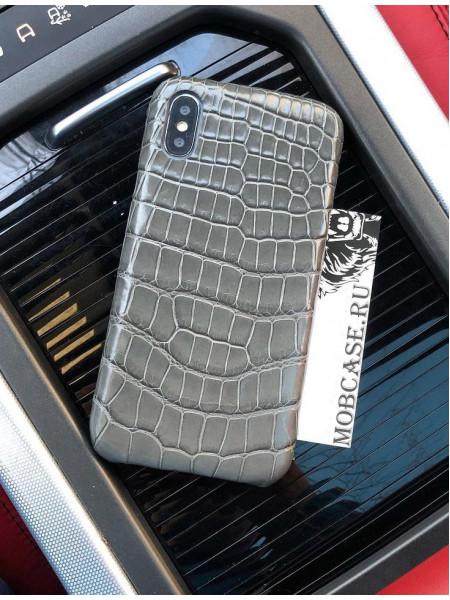 Эксклюзивный чехол из крокодиловой кожи, Mobcase 691 для iPhone 7, 8, 7 Plus, 8 Plus, X, XS, XSMAX, XR