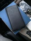 Эксклюзивный чехол карман из чёрной кожи Mobcase 1349