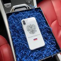 Эксклюзивный чехол настоящего патриота с гербом России Mobcase 750 для iPhone 7, 8, 7 Plus, 8 Plus, X, XS, XSMAX, XR