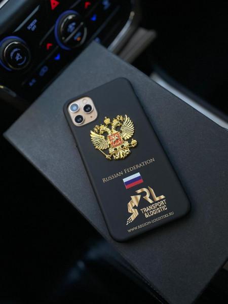 Эксклюзивный чехол с гербом России Mobcase 1339