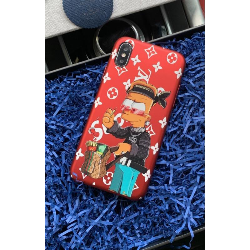 Эксклюзивный чехол с принтом Барта Симпсона Mobcase 749 для iPhone
