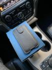 Эксклюзивный чёрный кожаный чехол карман Mobcase 1257
