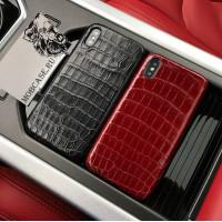 Эксклюзивный, дорогой чехол из крокодиловой кожи Mobcase 626, для iPhone 7/8|7/8Plus|XXS|XSMAX|XR