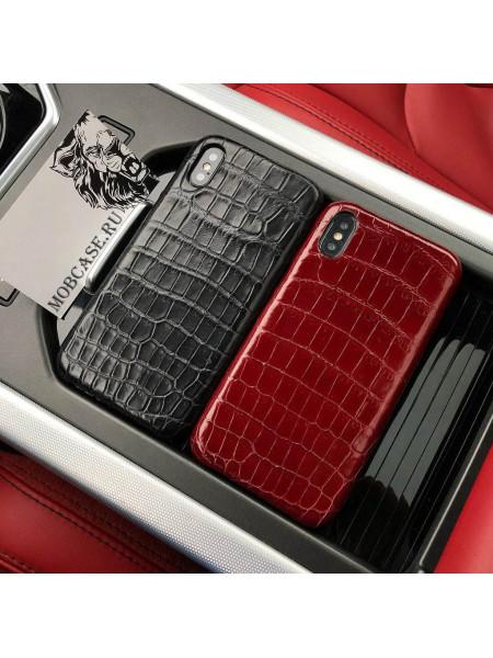 Эксклюзивный, дорогой чехол из крокодиловой кожи Mobcase 626, для iPhone 7/8 7/8Plus XXS XSMAX XR