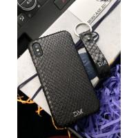 Эксклюзивный, именной чехол, чёрный, кожаный Mobcase 633, для iPhone 7/8|7/8Plus|XXS|XSMAX|XR
