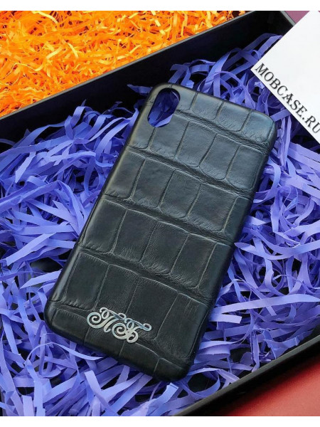 Эксклюзивный, именной чехол, кожа крокодила Mobcase 603, для iPhone