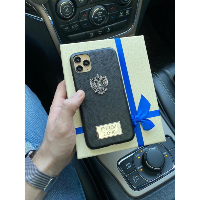 Эксклюзивный, именной чехол с гербом России, Mobcase 320