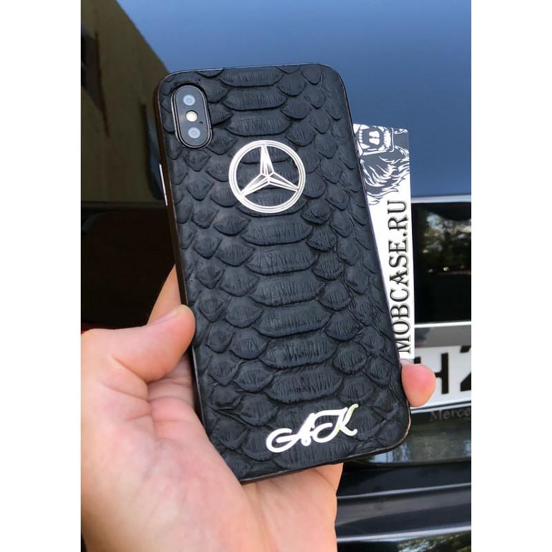 Эксклюзивный, именной, чехол с логотипом Mercedes Mobcase 619, для iPhone