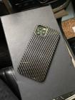 Эксклюзивный, карбоновый, чёрный чехол Mobcase 1178