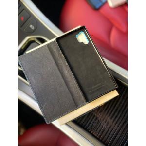 Эксклюзивный кожаный березовый чехол книжка Mobcase 1251