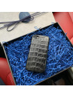 Эксклюзивный, кожаный чехол чёрного цвета Mobcase 797 для iPhone