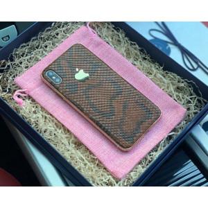 Эксклюзивный кожаный чехол для телефона с логотипом Apple, Mobcase 909