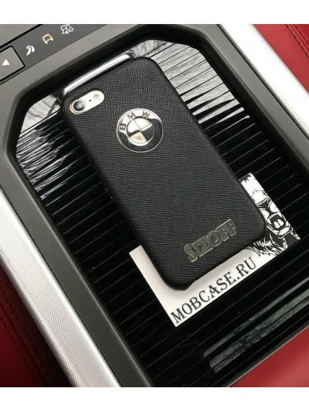Эксклюзивный кожаный кейс, с логотипом BMW, Mobcase 605, для iPhone 7/8|7/8Plus|XXS|XSMAX|XR