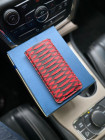 Эксклюзивный красный чехол карман из кожи питона Mobcase 1232