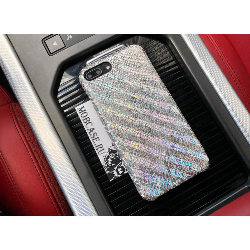 Эксклюзивный, лимитированный чехол из яркой кожи питона Mobcase 803 для iPhone