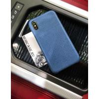 Эксклюзивный, синий, кожаный чехол Mobcase 600, под заказ для iPhone 7/8|7/8Plus|XXS|XSMAX|XR