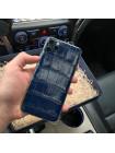 Элитный телефон iPhone 11 Pro: Nile Crocodile, Blue, Mobcase 1025