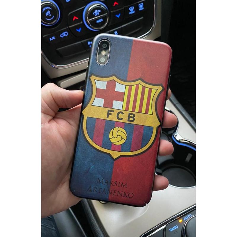 Именной чехол с принтом ФК Барселона, Mobcase 720 для iPhone
