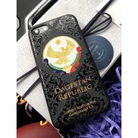Именной чехол с принтом, гербом Дагестана Mobcase 613, для iPhone 7/8|7/8Plus|XXS|XSMAX|XR
