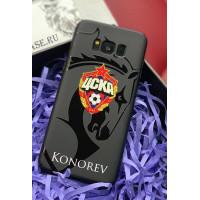 Именной чехол с принтом и логотипом ЦСКА Mobcase 752 для iPhone 7, 8, 7 Plus, 8 Plus, X, XS, XSMAX, XR
