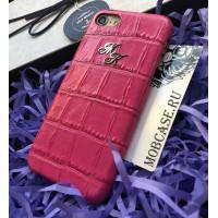 Именной, дорогой чехол из крокодиловой кожи Mobcase 615, для iPhone 7/8|7/8Plus|XXS|XSMAX|XR