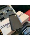 Именной, кожаный чехол с большим, металлическим гербом России, Mobcase 733 для iPhone