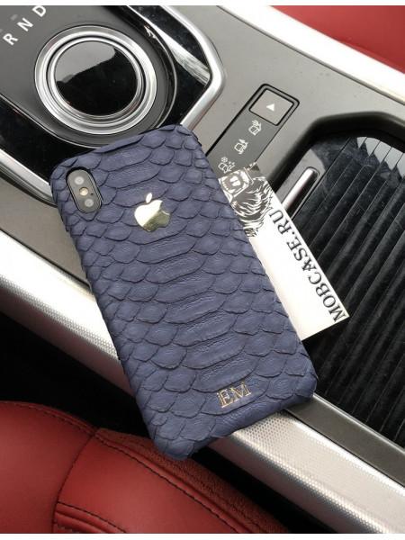 Именной, кожаный чехол с логотипом Apple, Mobcase 712 для iPhone 7, 8, 7 Plus, 8 Plus, X, XS, XSMAX, XR