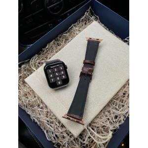 Коричневый кожаный ремешок Mobcase 1064 для Apple Watch