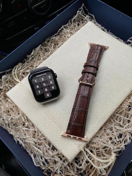 Коричневый, кожаный ремешок для Apple Watch, Mobcase 1064