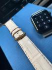 Кожаный белый ремешок Mobcase 1112 для Apple Watch