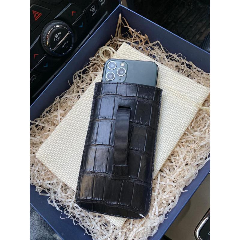 Кожаный чехол карман ручной работы, Mobcase 330