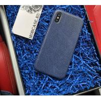 Кожаный чехол, синий из кожи игуана Mobcase 807 для iPhone 7, 8, 7 Plus, 8 Plus, X, XS, XSMAX, XR