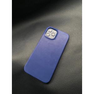 Кожаный синий чехол Mobcase 1384