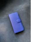 Эксклюзивный чехол книжка кожаный синий Mobcase 1411