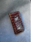 Кожаный коричневый чехол книжка ручной работы Mobcase 1444