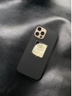 Противоударный чёрный чехол Apple MagSafe с гербом М.О Mobcase 1461