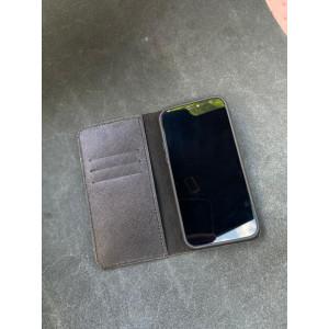 Чехол книжка ручной работы из натуральной кожи Mobcase 1511 для iPhone 12 Pro