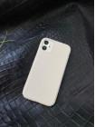 Белый кожаный чехол Mobcase 1516 для iPhone 11